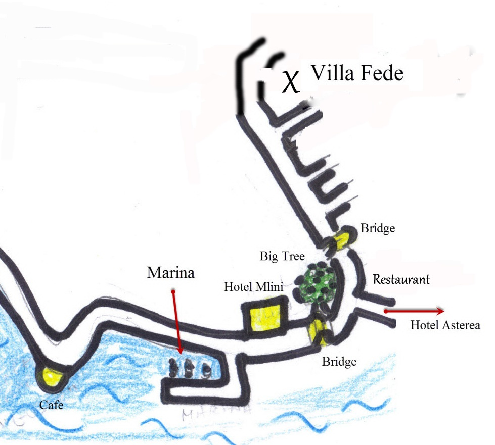 Directions to Villa Fede